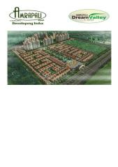 amrapali builders -- Amrapali Dream Valley highrise brochure.pdf