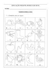 TAREFA PARA CASA VOGAIS - NÚMEROS 1 E 2.docx