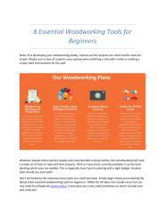 8 Essential Woodworking Tools for Beginners.pdf