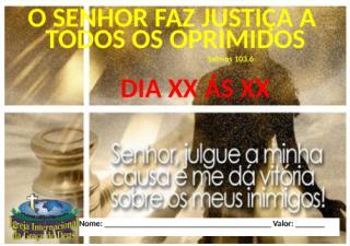 Justiça aos Oprimidos.docx