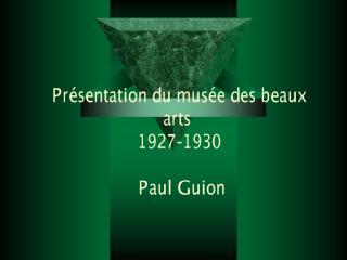 Présentation du musée des beaux arts.pdf