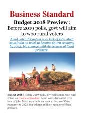 Budget 2018 Preview - Before 2019 polls, govt will aim to woo ruralvoters.pdf