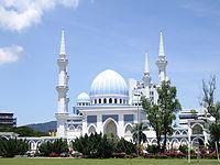 WTA KUALA LUMPUR 2014 : infos , photos et videos Kuantan_Mosque_in_Malaysia
