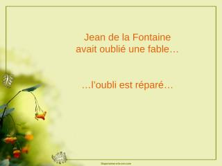 09-Une-fable-oubliee.pps