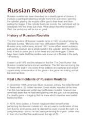 Russian Roulette - History, Pop Culture, and Famous Incidents.pdf