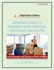 Points to remember when searching for Packers and Movers.pdf