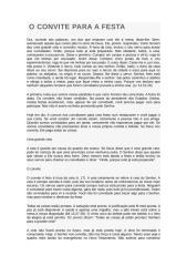 O CONVITE PARA A FESTA.doc