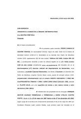 Carta Solicitando Exoneración Deuda O.S.E..doc
