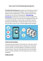 Tips to Ease Your PhoneGap App Development.pdf