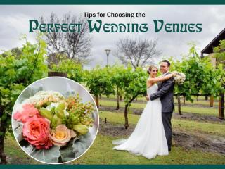 How to Choose the Perfect Wedding Venues in Perth.pptx