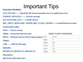 bdc tips.ppt