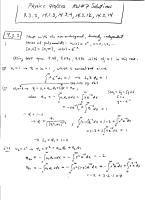 Mathematical Methods for Physicists,.