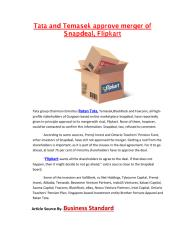 Tata and Temasek approve merger of Snapdeal.pdf