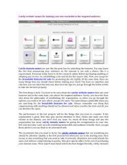 Catchy website names.pdf