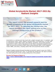 Global Acrylonitrile Market 2017-2021 By Radiant Insights.pdf